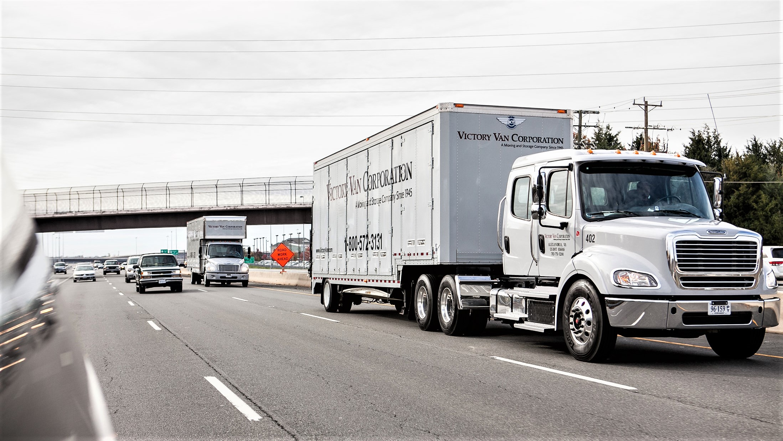 Victory Van moving company
