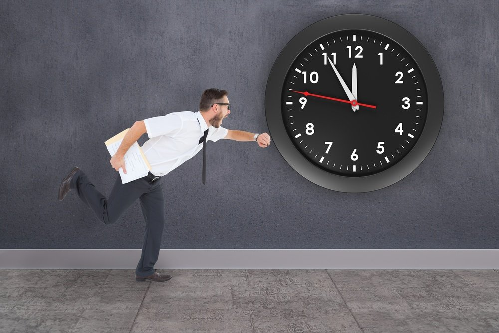 Setting a time for an office move to be achieved can be conveyed to the workers.