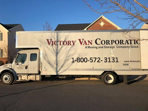 Victory Van Moving Truck