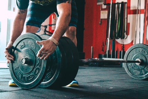 What to do when you want to move your weight lifting equipment.