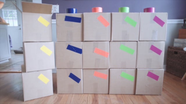 Color Coding Boxes for a Move with Reliable Movers