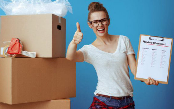 Local Residential Moving and Storage Checklist