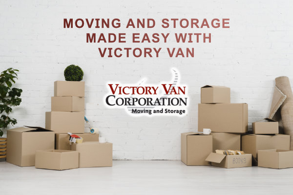 Moving and storage made easy with Victory Van